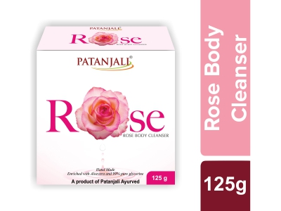 Patanjali Rose Body Cleanser 125 Gm