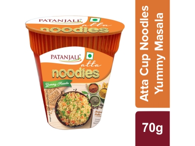 Patanjali Atta Cup Noodles Yummy Masala