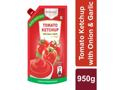 Patanjali Tomato Ketchup W. Onion Garlic