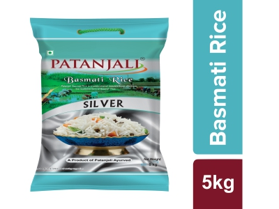 Patanjali Basmati Rice (Silver)