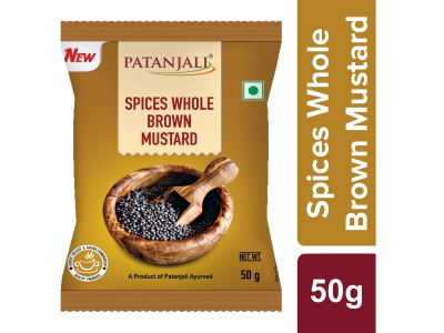 Patanjali Whole Brown Mustard (Rai)