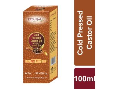 Patanjali Cold Pressed Castor Oil With Vitamin E