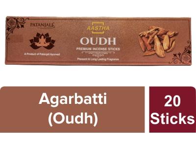 Aastha Premium Agarbatti Oudh - 20 N