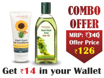 Haircare Combo- Amla Hair Oil 200 ML+Conditioner Damage Control 100 Ml - Rs 14 Off