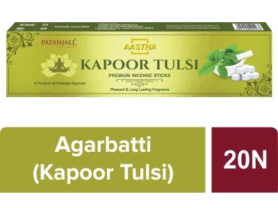 Aastha Prem. Agarbatti Kapoor Tulsi-20 N
