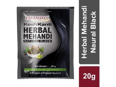 Patanjali Kesh Kanti Herbal Mehandi (Natural Black)