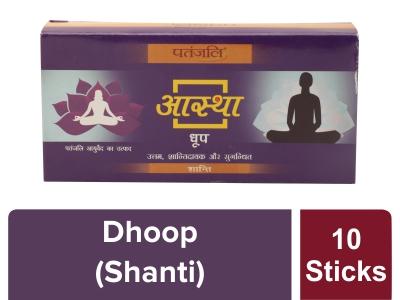 Aastha Shanti Dhoop -10 Stick