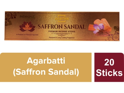 Aastha Premium Agarbatti Saffron Sandal