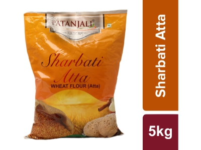 Patanjali Sharbati Whole Wheat Atta