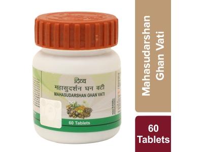 Divya Mahasudarshan Ghanvati Plus 60 Tab