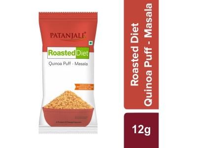 Patanjali Roasted Diet-quinoa-Puff- masala