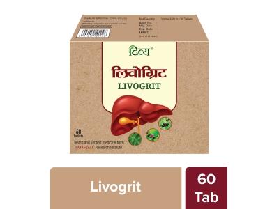 Divya Livogrit Tablet 60 N