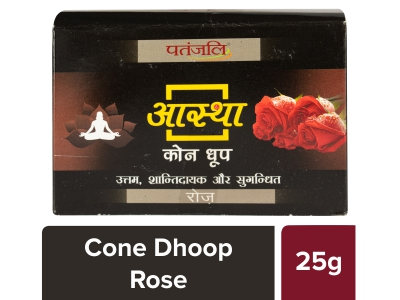 Aastha Cone Dhoop - Rose