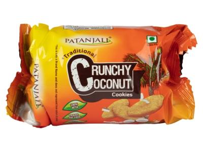 Patanjali Crunchy Coconut Cookies