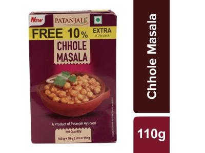 Patanjali Chhole Masala 100 Gm (30 Pc) 10% Extra