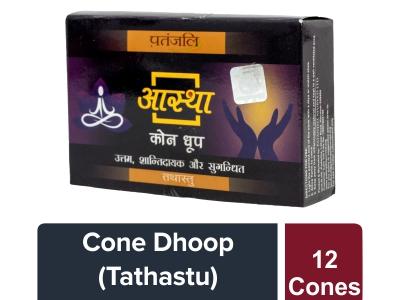 Aastha 12 Cone Dhoop - Tathastu