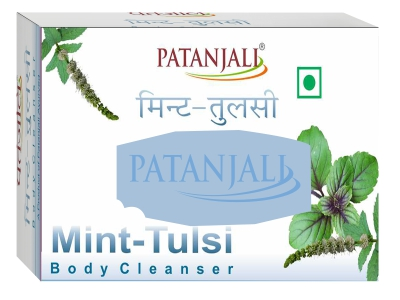 Patanjali Mint Tulsi Body Cleanser