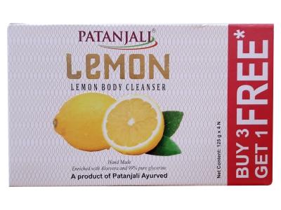 Patanjali Lemon Body Cleanser 125g C.o. B3G1 Free