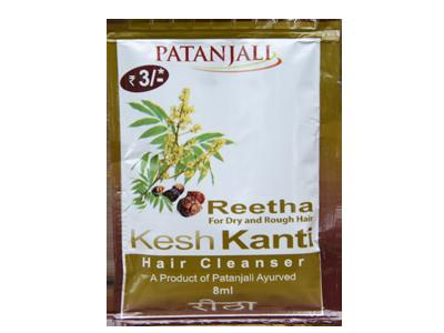 Patanjali Kesh Kanti Reetha Hair Cleanser (Pouch)