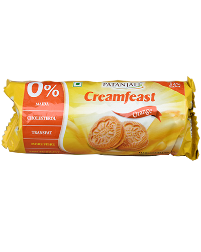 CREAMFEAST ORANGE BISCUIT