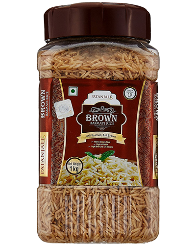 BROWN BASMATI RICE (JAR)