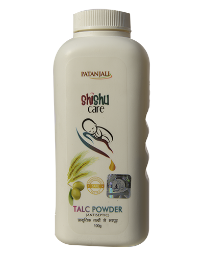 Patanjali Shishu Care Talc Powder (Antiseptic)