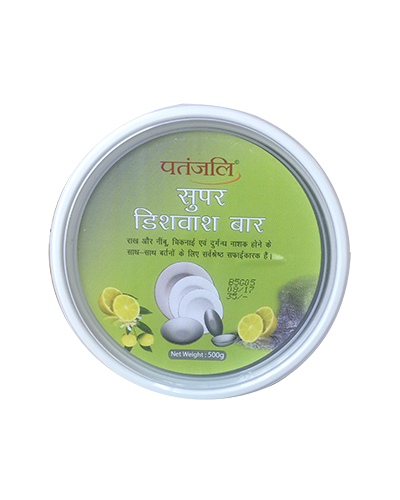 PATANJALI DISH WASH BAR TUB 500 GM