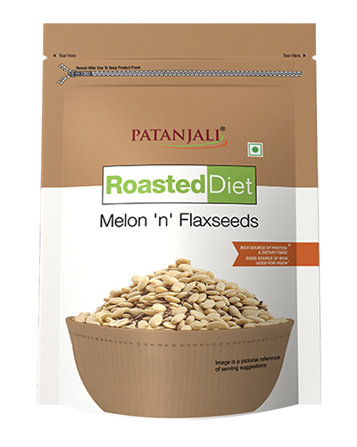ROASTED DIET-MELON 'N' FLAXSEED 150 GM