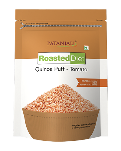 ROASTED DIET-QUINOA PUFF -TOMATO FLAV 80 GM