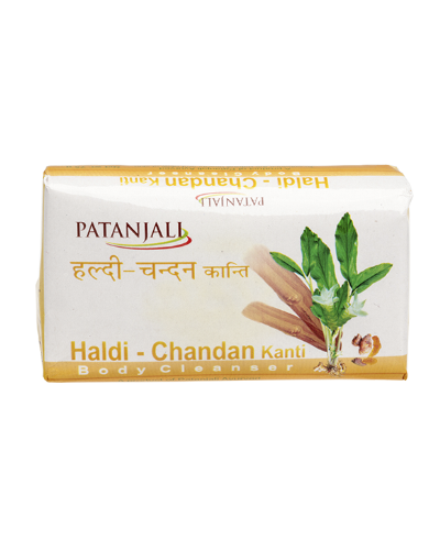 bathing Soap Patanjali Haldi Chandan Kanti Body Cleanser Pack Of 3 150 Gm