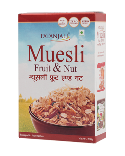MUESLI FRUIT & NUT