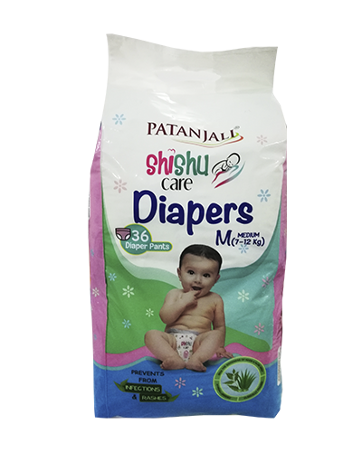 SHISHU CARE BABY DIAPER (MEDIUM-36)