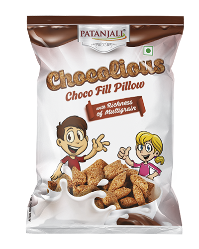 CHOCOLIOUS-CHOCO FILL PILLOW - 125 GM
