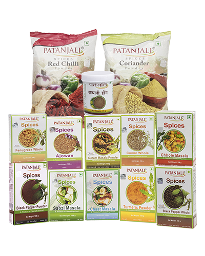 PATANJALI  - COMBO (PACK OF SPICES)