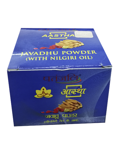 AASTHA JAVADHU POWDER ( WITH NILGIRI OIL )