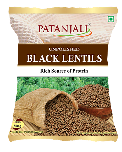 PATANJALI UNPOLISHED  BLACK MASOOR