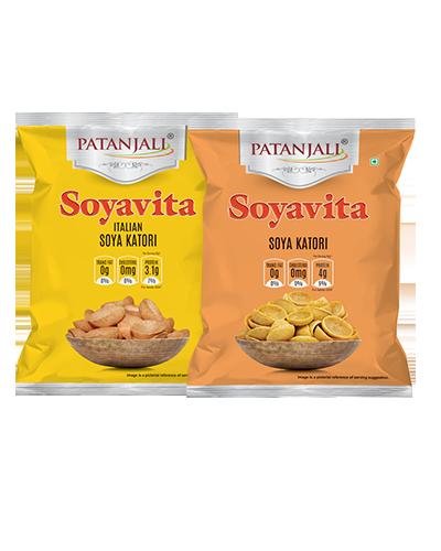 PATANJALI SOYAVITA- COMBO (ITALIAN SOYA KATORI + SOYA KATORI)