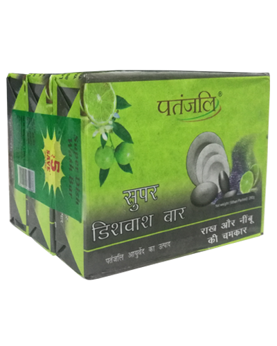 PATANJALI SUPER DISHWASH BAR (3x1)