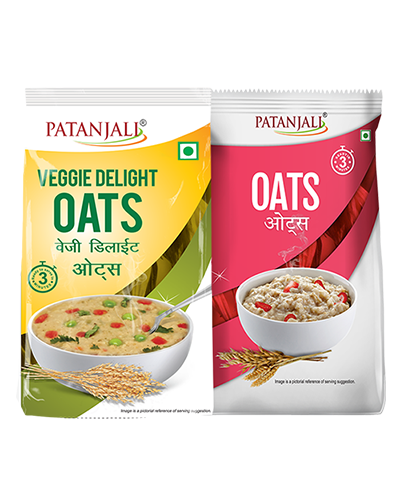 OATS COMBO(VEGGIE DELIGHT OATS 400GM + OATS 500GM)