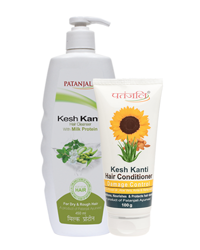KESH KANTI MILK PROTEIN HAIR CLEANSER PLUS CONDITIONER DAMAGE CONTROL
