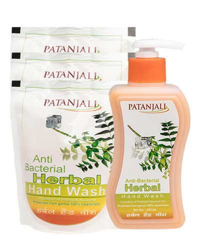 HERBAL HANDWASH PLUS 3 REFILL PACK