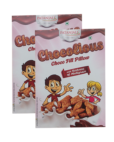 CHOCOLIOUS-CHOCO FILL PILLOW  (PACK OF 2)