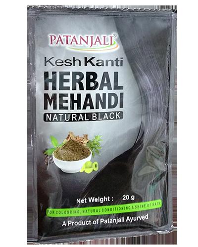 KESH KANTI HERBAL MEHANDI(NATURAL BLACK)