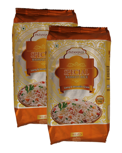 SPECIAL BASMATI RICE (Pack of 2)