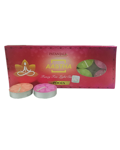AASTHA FANCY TEA LIGHT CANDLE