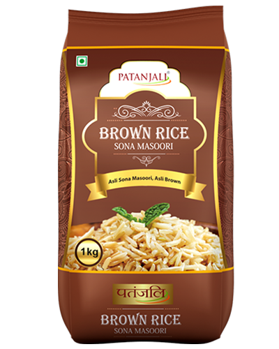 BROWN RICE- SONA MASOORI