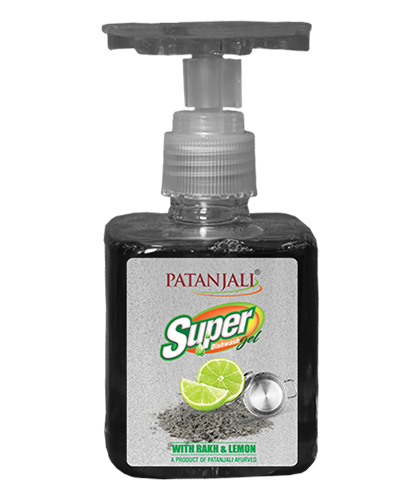 PATANJALI SUPER DISH WASH GEL RAKH & LEMON 200 ML