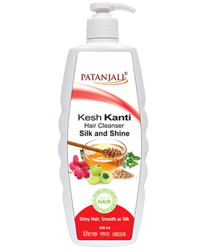 KESH KANTI HAIR CLNSR SILK & SHINE 450 ML