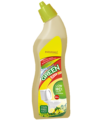 GREEN FLUSH TOILET CLEANER (LOW HCL)
