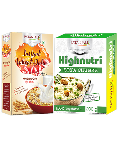 INSTANT WHEAT DALIA Plus SOYA CHUNK